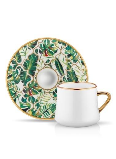 Koleksiyon Sufi Çay Fincan Seti 6'lı Amazon Ekvator Renkli